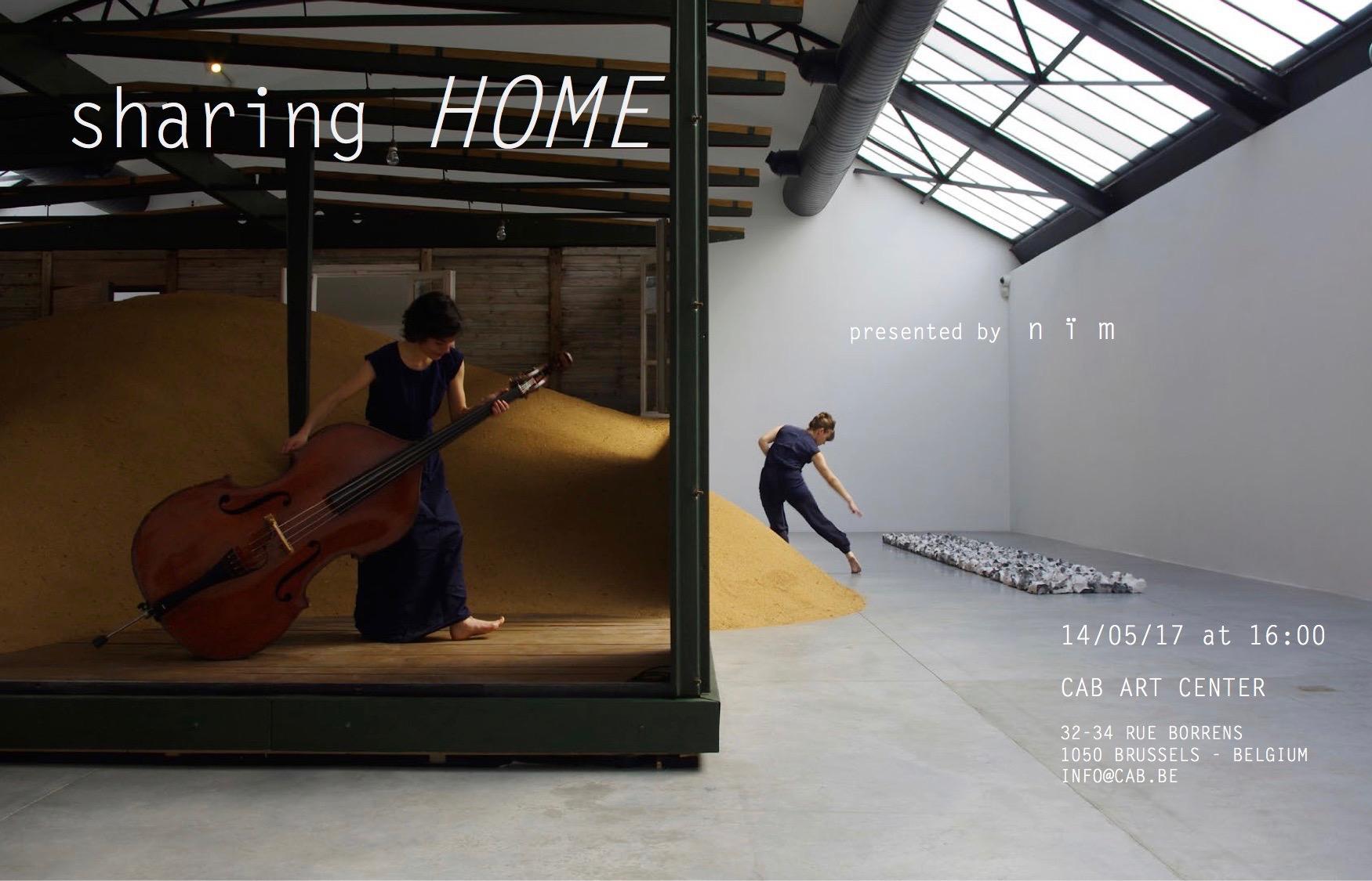 Sharing HOME© Lola Drubigny